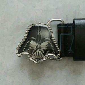 Star Wars belt size 33 black belt metal buckle